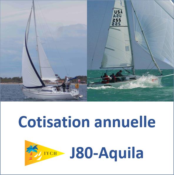 Cotisation annuelle J80 et Aquila
