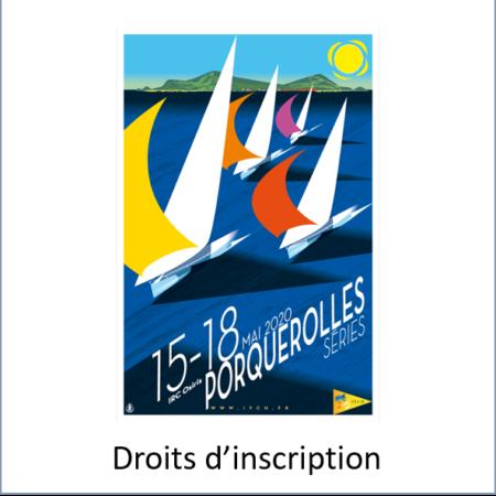 Droits d'inscription Porquerolles Series