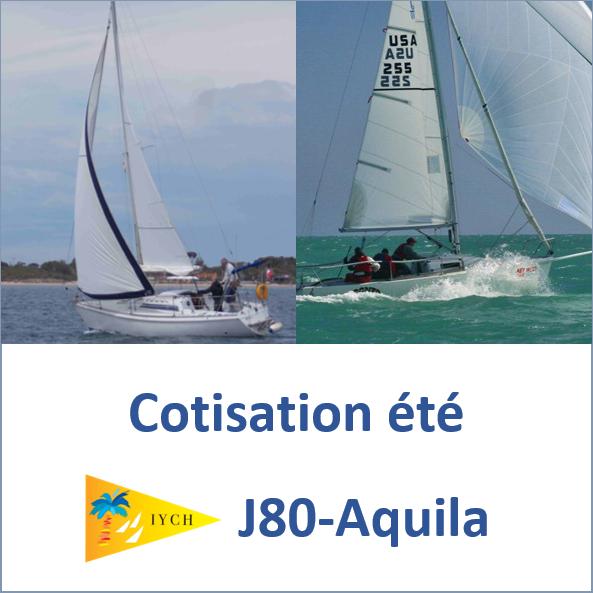 Cotisation été J80 et Aquila