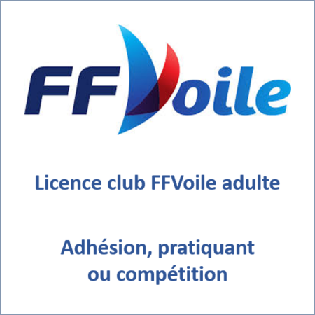 Licence Club Adulte FFVoile