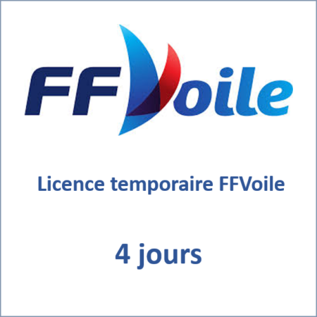 Licence temporaire 4 jours FFVoile