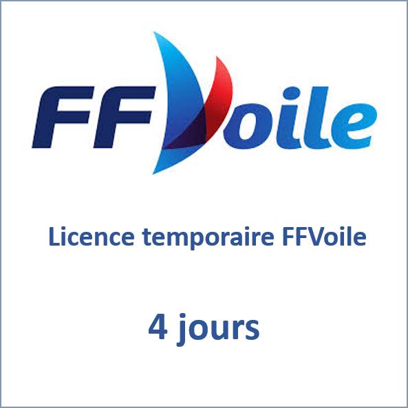 Licence temporaire 4 jours FFVoile
