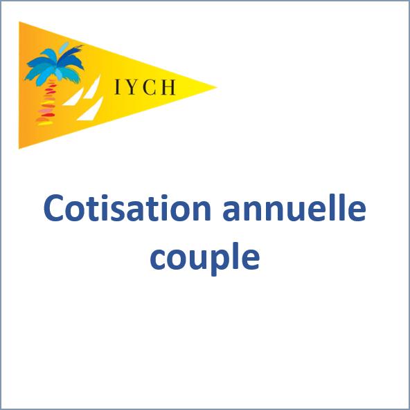 Cotisation annuelle couple